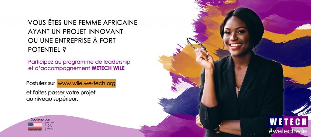Banniere WETECH WILE - Women Entrepreneurs